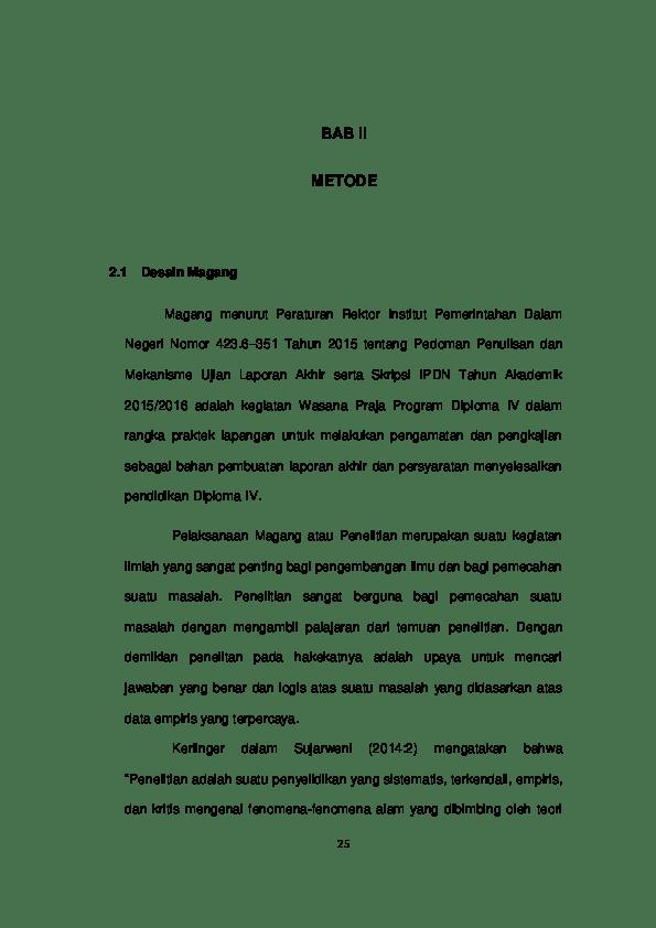 17 Contoh Skripsi Empiris