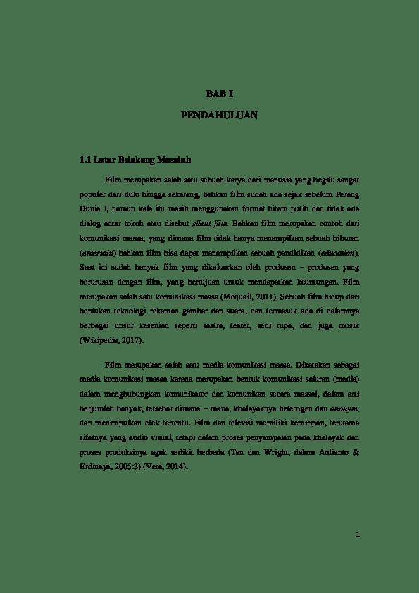 18 Skripsi Bahasa Inggris Tentang Film Pdf
