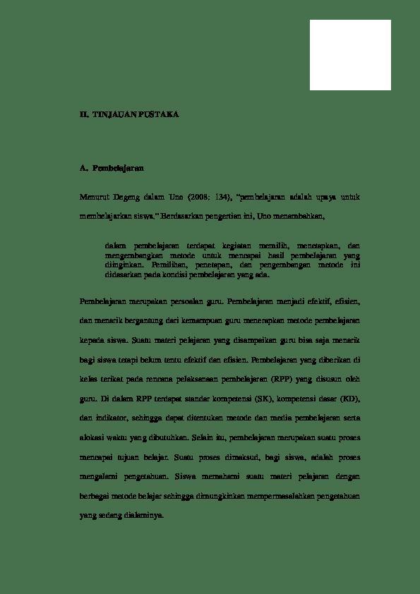 17 Contoh Skripsi Fisika Pendidikan Pdf