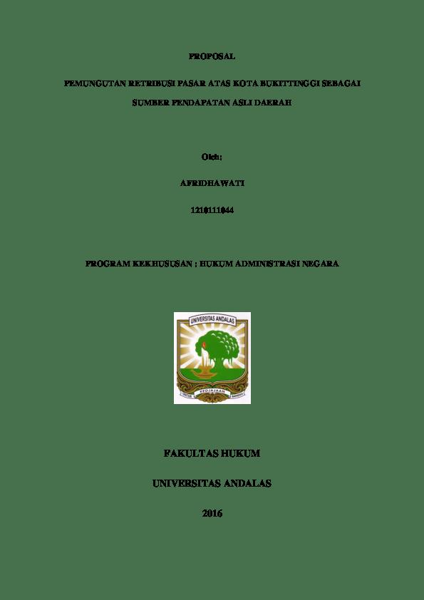 20 Cover Skripsi Fakultas Hukum