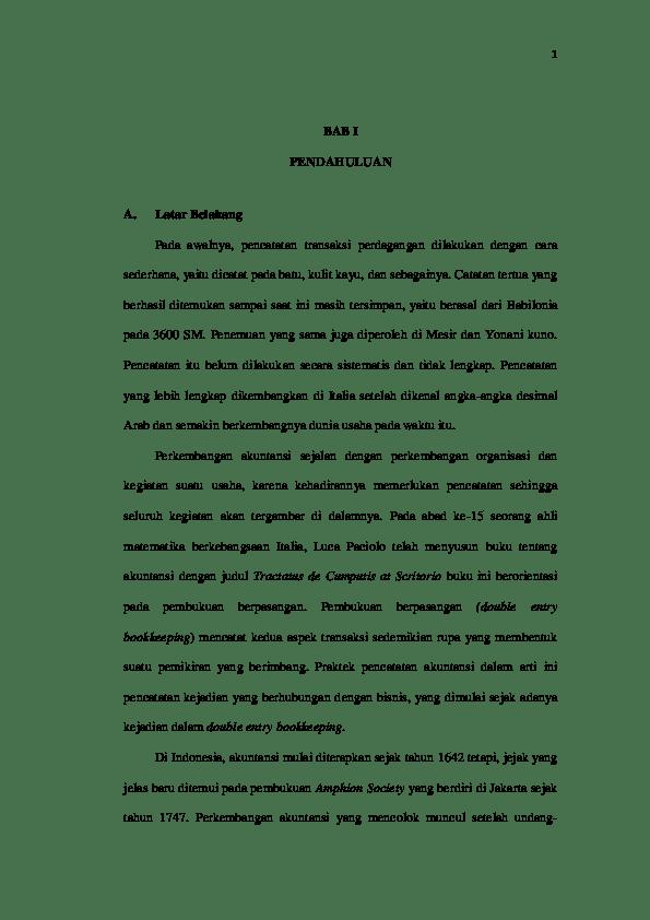 Contoh Skripsi Manajemen Keuangan Contoh Soal Dan Materi Pelajaran 2