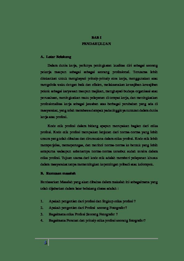 20 Contoh Makalah Etika Bisnis Dalam Perspektif Islam
