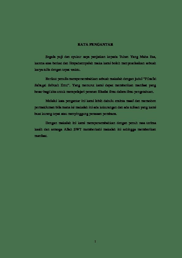 17 Judul Makalah Filsafat Ilmu