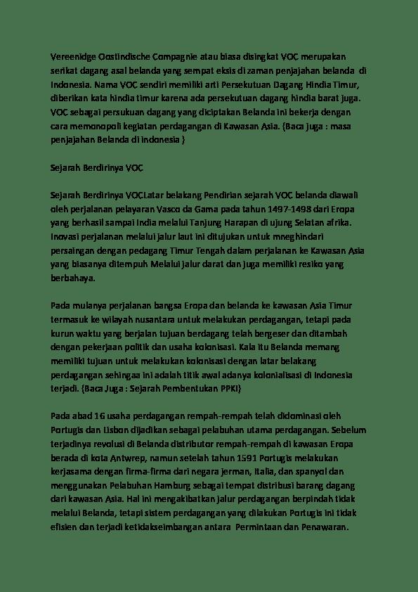 Sejarah Berdirinya Voc : sejarah, berdirinya, Sejarah, Pembentukan, Vereenigde, Oostindische, Compagnie, Wikipedia, Bahasa, Indonesia, Ensiklopedia, Bebas, Korupsi, Tersebut, Otomatis, Menjadikan, Pemasukan, Negara, Berkurang, Drastic., Organisme