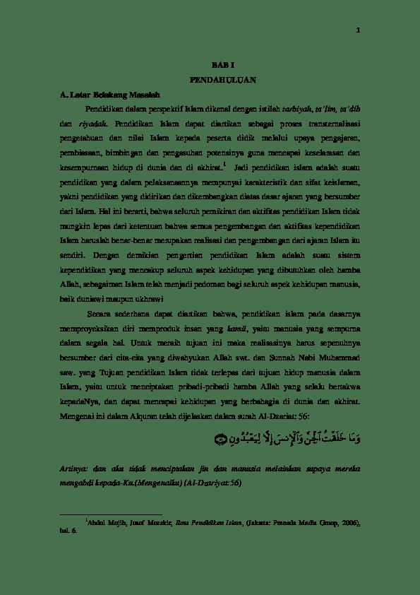 Makalah Ontologi Pendidikan