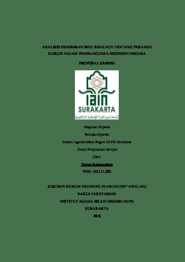 19 Skripsi Ekonomi Islam Doc