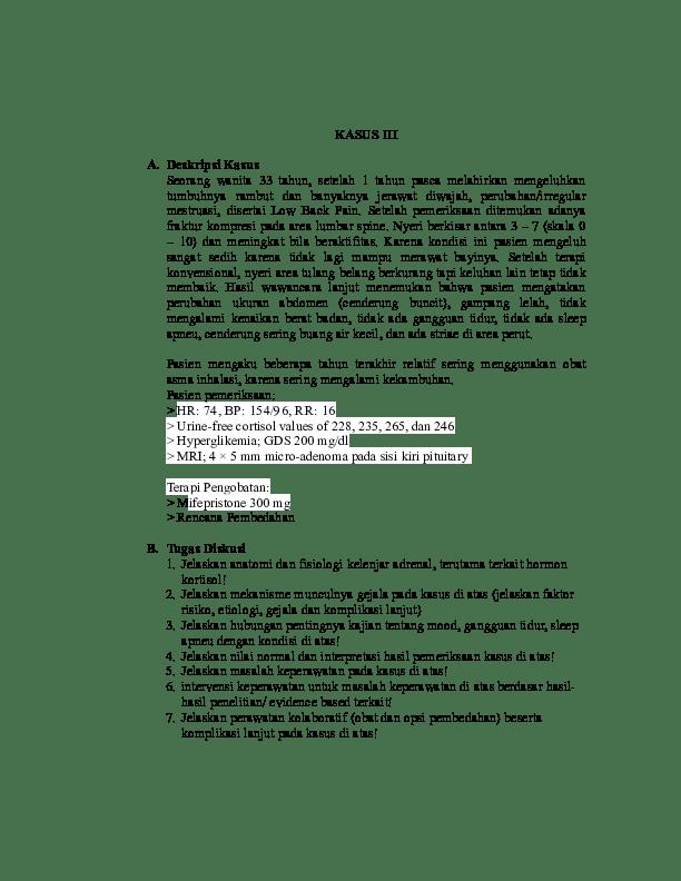 16 Judul Skripsi Keperawatan Medikal Bedah Pdf