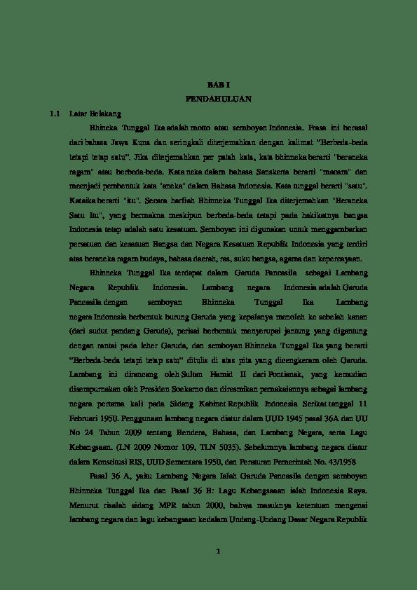 18 Contoh Makalah Pkn Kelas 10