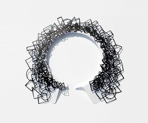 Air Tattoo Jewelry Made from Paper by Logical Art