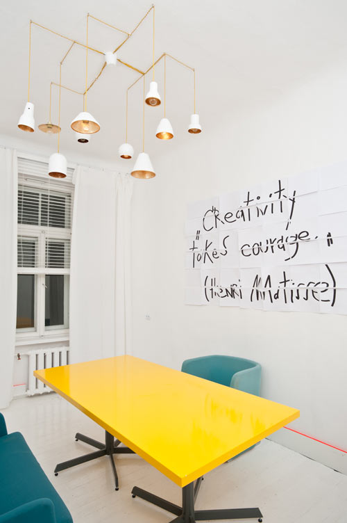 Creative Office Design Ideas from Interior Designer Anna Butele in interior design Category