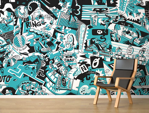 The Wallery: Artwork That Doesnt Require a Frame in interior design art Category