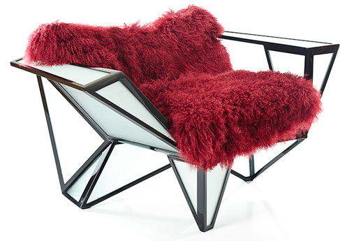 Mosaic Chair 02 by BRC Designs in home furnishings Category