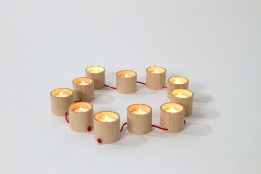 String It Along: Lys Candelabra by Matte Berit Nyberg in home furnishings Category