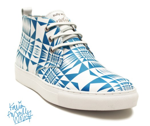 Karim Rashid For Sully Wong Limited Edition Desert Boots Collection in style fashion Category