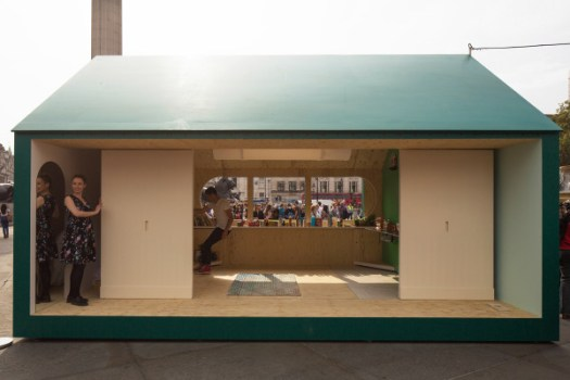 Airbnbs Landmark Project during London Design Festival 2014 in main architecture Category