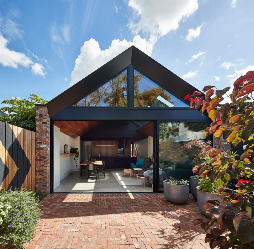 A for Architecture Transforms a Cottage into a Two-Story Home