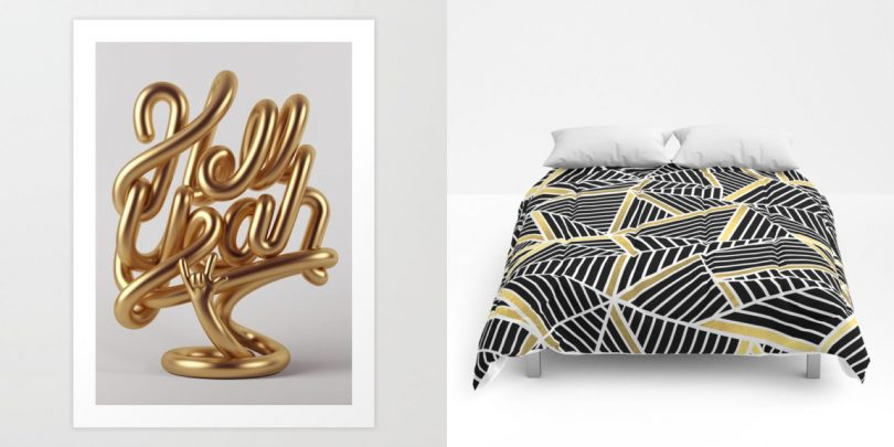 Golden Favorites from Society6