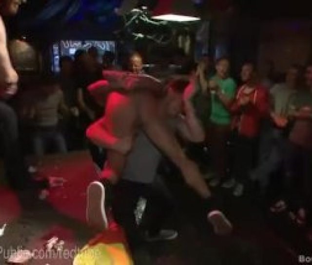 Gogo Dancer Gets Humped By Bar Crowd
