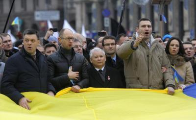 Jarosław Kaczyński w Kijowie