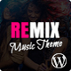 Download Remix - Professional Music and Musician Ajax WP Theme from ThemeForest
