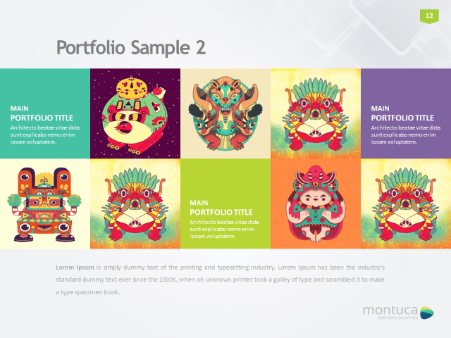 10+ best powerpoint templates of all time | the inspiration blog, Montuca Powerpoint Presentation Template Download, Presentation templates