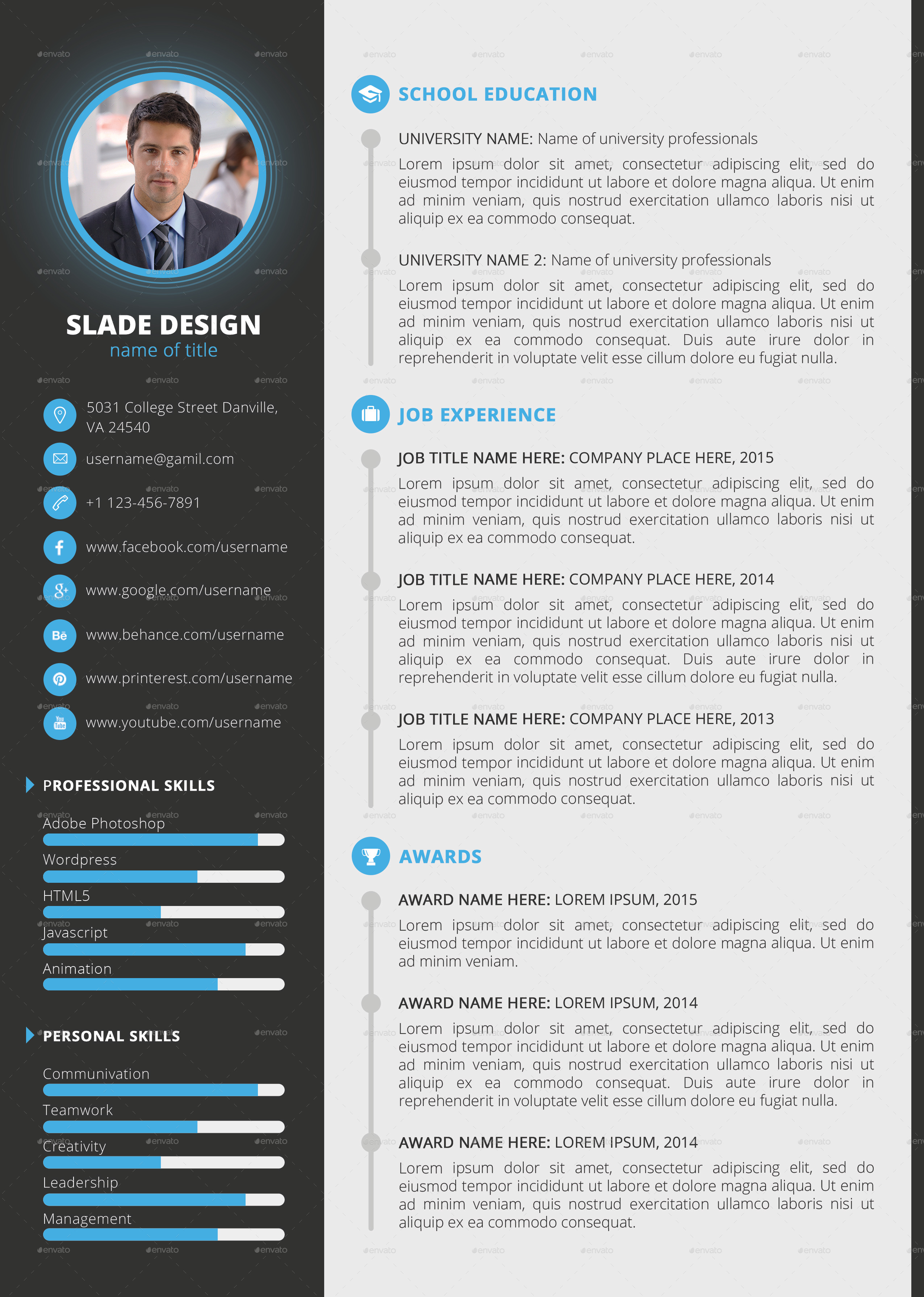 Powerpoint Resume Template. best photos of jigsaw puzzle pieces 6 ...