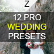 Download 12 Pro Wedding Presets from GraphicRiver
