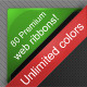 Download 80 Premium Web Ribbons from GraphicRiver