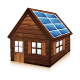 Download Wooden house with solar panels from GraphicRiver