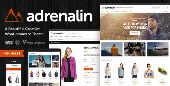 Adrenalin v1.9.6 – Multi-Purpose WooCommerce WordPress Theme
