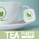 Download Tea Cup And Tea Label Branding Photo Mockup from GraphicRiver