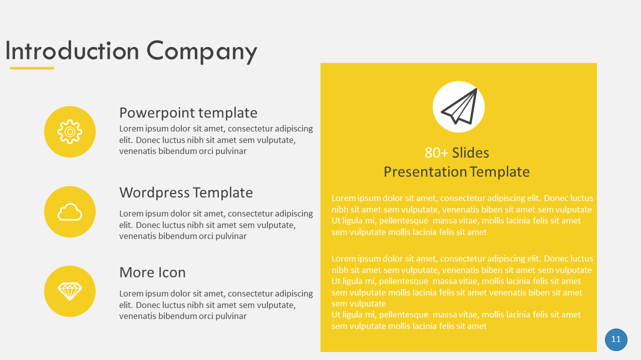 This Template Features PPT And PPTX Files With More Than 80 Slides. All  Slides Are Editable In This Modern Powerpoint Presentation.