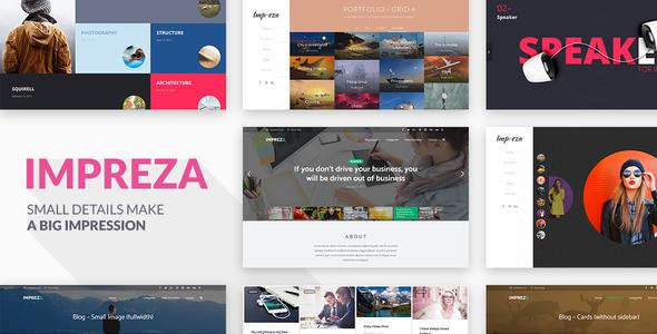 Impreza v3.7.1 – Retina Responsive WordPress Theme