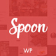 Download Spoon – a Premium Responsive Restaurant WordPress Theme from ThemeForest
