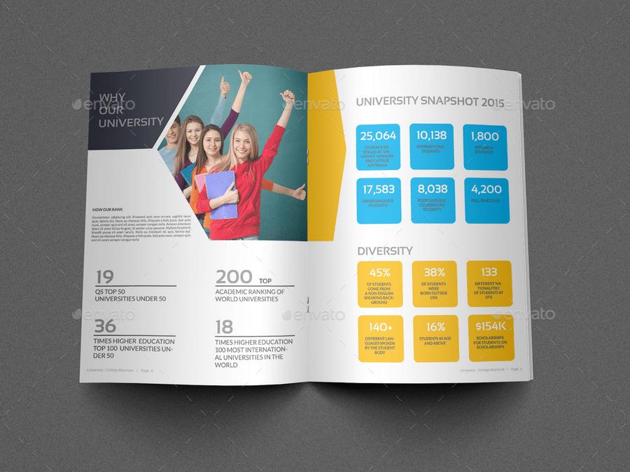 College Brochure Templates 20 beautiful college brochure – University Brochure Template