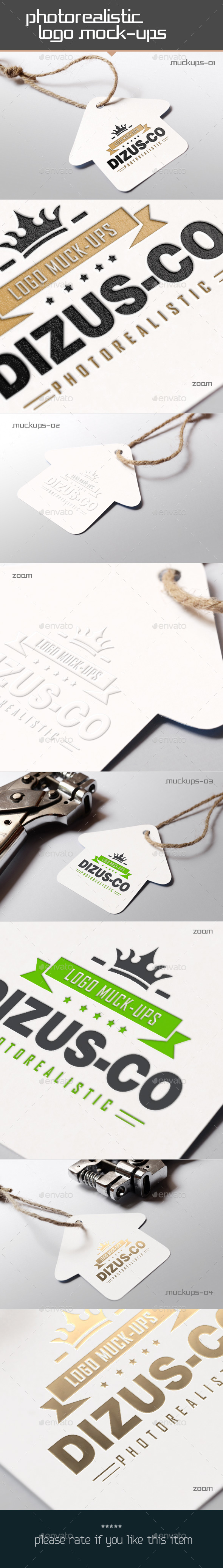 Photorealistic Logo Mockups
