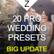 Download 20 Pro Wedding Presets from GraphicRiver