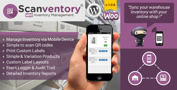Woocommerce Mobile Inventory Management v1.0.6 WP Plugin
