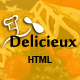Download Mega Delicieux - Restaurant and Food HTML5 Template from ThemeForest
