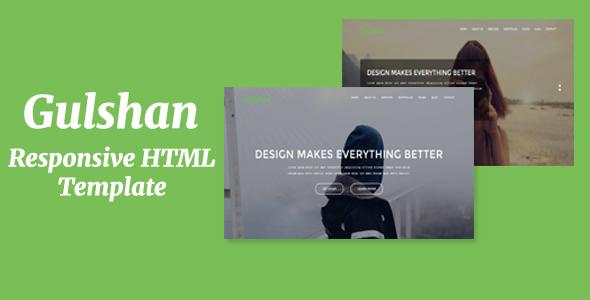 Gulshan - Responsive HTML Template