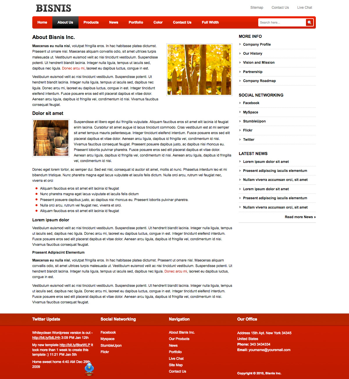 Sample Business Profile Template 7 free documents in pdf word – Best Company Profile Format