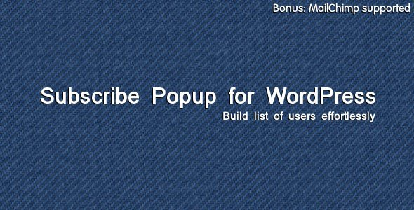 Subscribe Popup - CodeCanyon Item for Sale