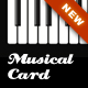 Musical Business Card - GraphicRiver Item for Sale