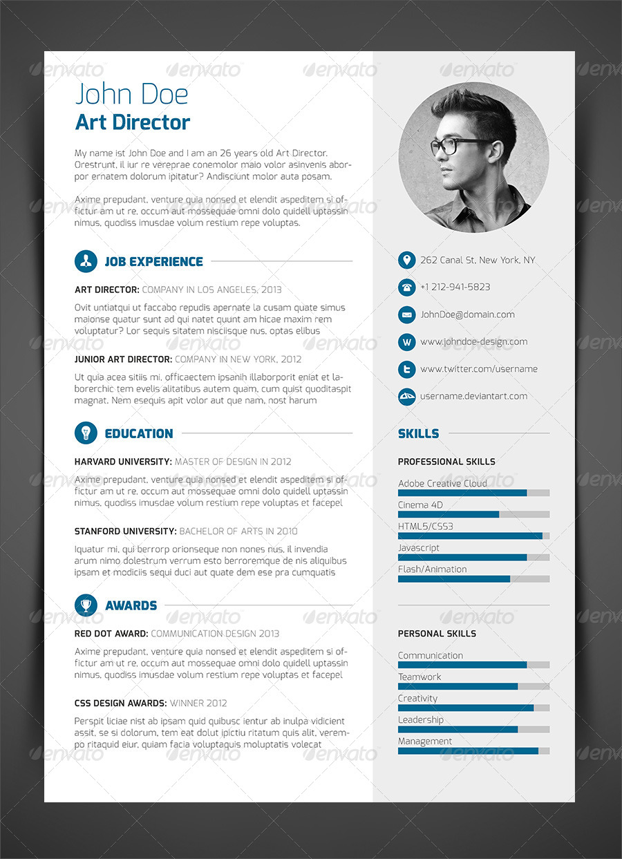 10 cv templates guaranteed to get you noticed