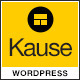 Download Kause - Multi Purpose WordPress Theme from ThemeForest