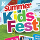 Download Kids Summer Camp Flyers from GraphicRiver
