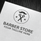 Download Barber Store Logo Template from GraphicRiver