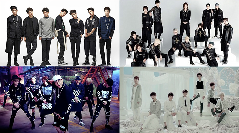 Video: 46 K-Pop Boy Groups That Made Their Debut in 2015