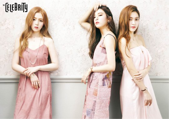 Red Velvet Turn Into Beautiful Dolls for The Celebrity Pictorial