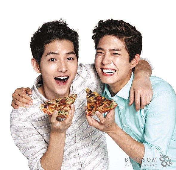 Image result for image Park bo gum domino's pizza